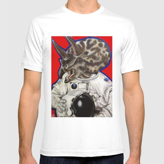 Prehistoric Astronaut T-shirt