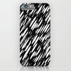 Boho BW Brushstroke Slim Case iPhone 6s