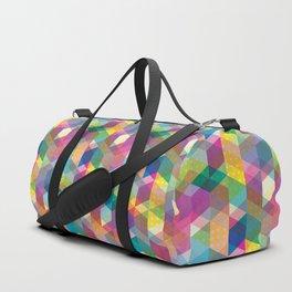 Spring Geometric Duffle Bag