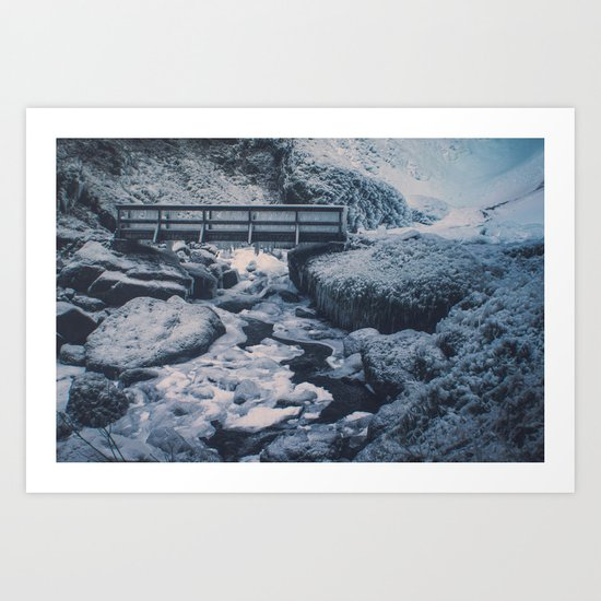 Cold Start Art Print