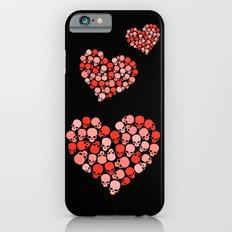 SKULL HEART FOR VALENTINE'S DAY Slim Case iPhone 6s