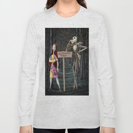 Halloween Town | Jack | Sally | Christmas | Nightmare Long Sleeve T-shirt