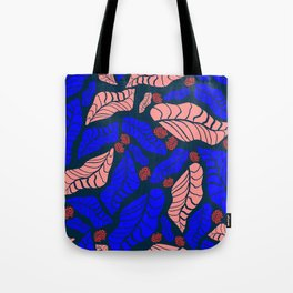 Bright bold floral designs for fashion and home Tote Bag