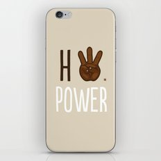 HiiiPower (w/text) : Chocolate iPhone & iPod Skin