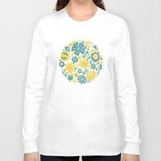 Little Flower Circle Long Sleeve T-shirt