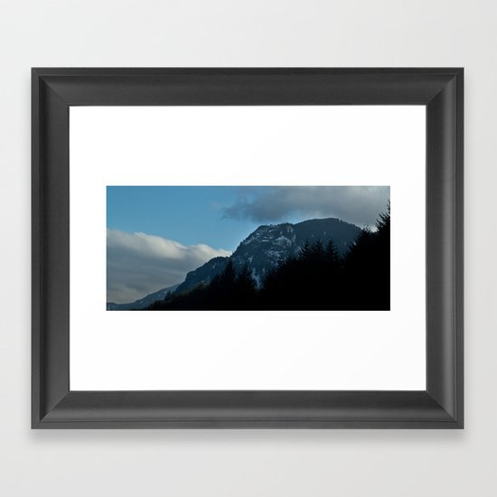 Columbia Gorge Framed Art Print