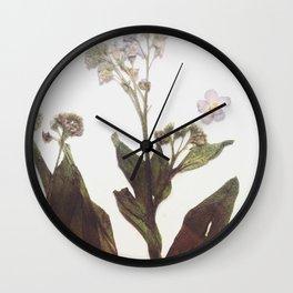 Leaf & Floral Wall Clock