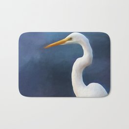 Painted Egret Bath Mat