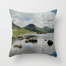 Wastwater Throw Pillow