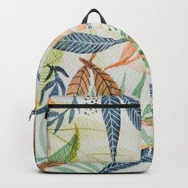 Hello Leaves  Backpack