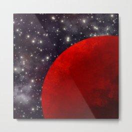 Mars In The Stars Metal Print