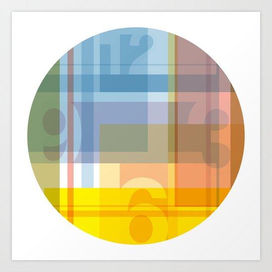 Rainbow Patch Art Print