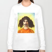 zappa Long Sleeve T-shirts featuring Frank Zappa by IamDeirdre