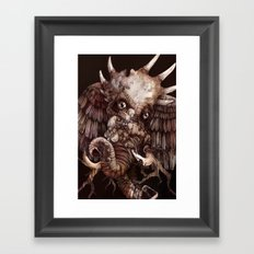King of the Desert Framed Art Print