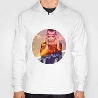 grimes Hoodies featuring GRIMES by OmaPRINTS
