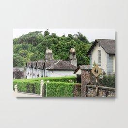 Cottage in Enniskerry Village - Ireland Metal Print