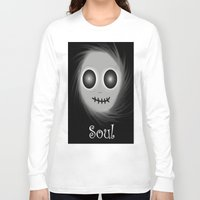 soul Long Sleeve T-shirts featuring Soul by LCMedia