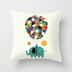 Fly High And Dream Big Throw Pillow