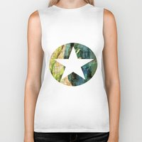 tulip Biker Tanks featuring Tulip by Aloke Design