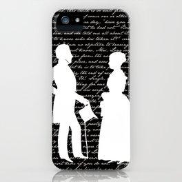 Pride and Prejudice design iPhone Case