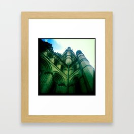 Town Hall Framed Art Print