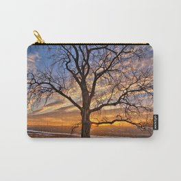 Winter Cottonwood Carry-All Pouch