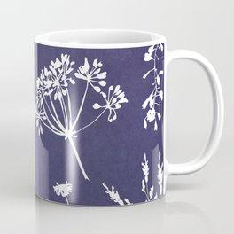 Wildflowers-Indigo Coffee Mug