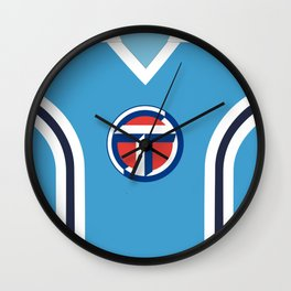 Coventry City Classic Double Striped Kit - 75 - 81 T-Shirt Wall Clock