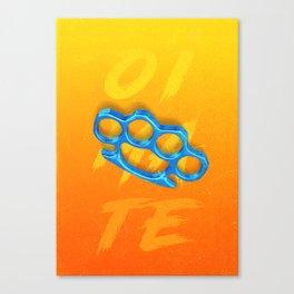 Knuckles Canvas Print