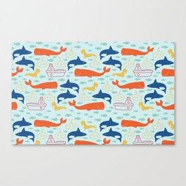 Under the Sea Adventures Canvas Print