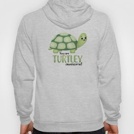 You Are Turtley Awesome! Hoody