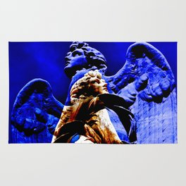 Blue Angel Wings Rug