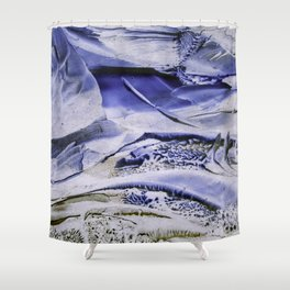 Melting Glacier Shower Curtain
