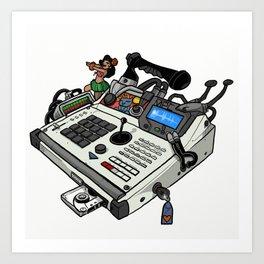 Pimped MPC Art Print