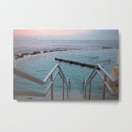 Sunset at Bronte Metal Print
