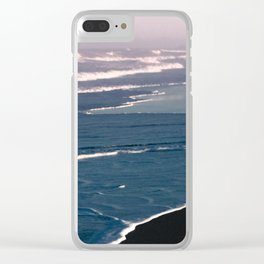 Tropical Beach Sunset - Nature Photography Clear iPhone Case