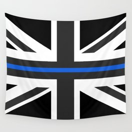 Thin Blue Line UK Flag Wall Tapestry