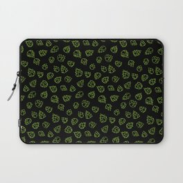 Hopcone Pattern Laptop Sleeve