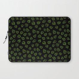 Hopcone Pattern Laptop Sleeve
