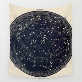 Constellation Chart Wall Tapestry