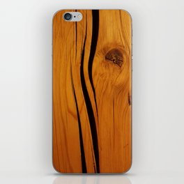 Wooden texture iPhone Skin