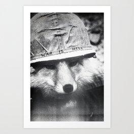 War is Hell Art Print