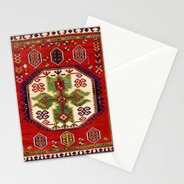 Lori Pambak Kazak Antique Carpet Print Stationery Cards