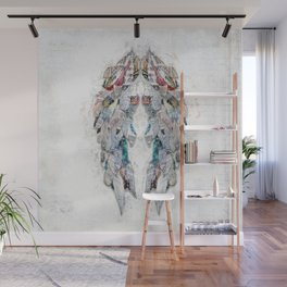 Paper Newsprint Wings Wall Mural