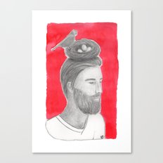 Nest-head Canvas Print