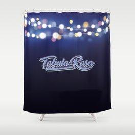 Tabula Rasa Shower Curtain