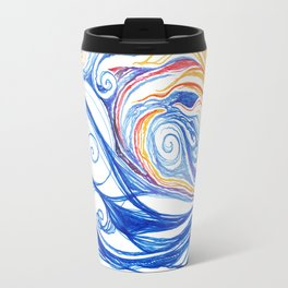 Winter Storm Travel Mug