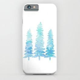 Tahoe Trees  iPhone Case