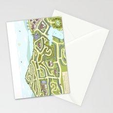 Limestone Village Maze Stationery Cards