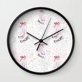 Figure Skating #3 Wall Clock